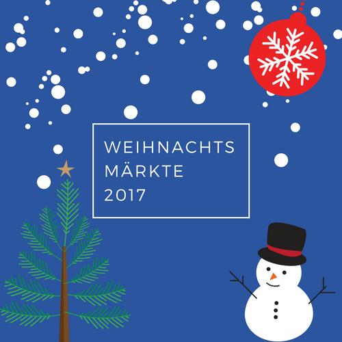 Grafik - Weihnachtsmärkte 2017